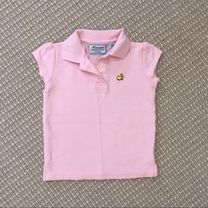 Pink Masters Polo - Girls 4T